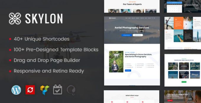 Skylon - Drone Aerial Photography & Videography WordPress Theme