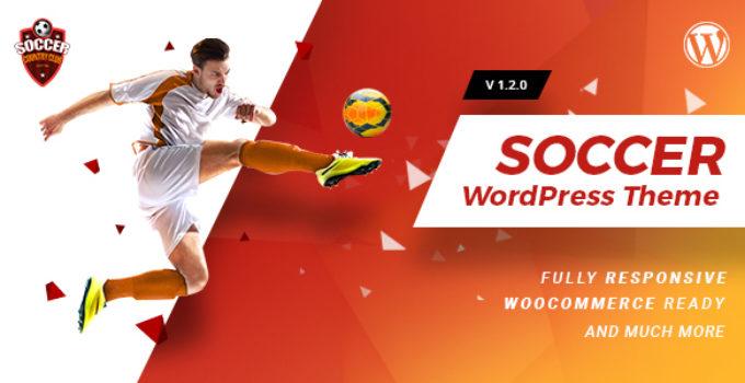 Soccerclub | Sports Club WordPress Theme