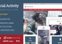 Social Activity - Politics & Activism WP Theme