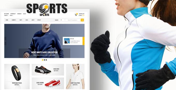 Sport Shop - Sporting Club RTL WooCommerce WordPress Theme