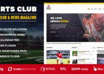 Sports Club - Football, Soccer, Sport News Theme
