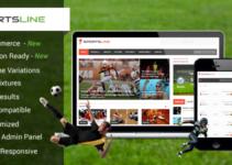 Sports News & Magazine WordPress Theme   Sportsline