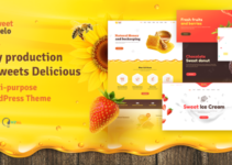 Sweet Mielo - Honey Production, Beekeeping and Sweets Delicious WordPress Theme