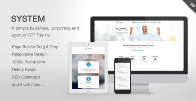 System - Responsive Multi-Purpose Theme
