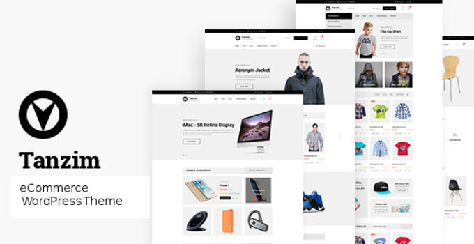 Tanzim - eCommerce WordPress Theme