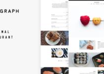 Telegraph - Restaurant WordPress Theme