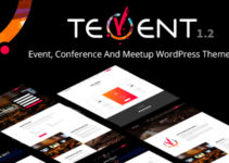 Tevent - Conference & Event WordPress Theme