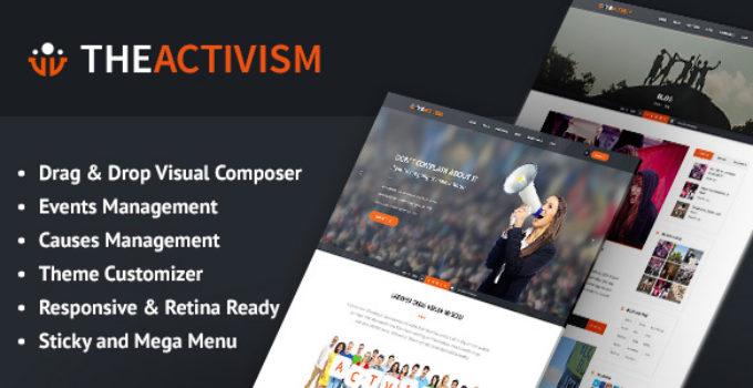The Activism : Political Activism WordPress Theme