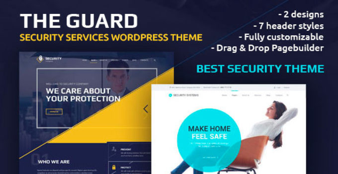 The Guard – Security Company WordPress Theme