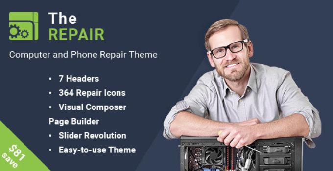 The Repair - Computer and Electronics Repair WordPress Theme