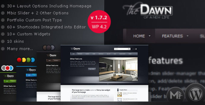 theDawn - WordPress Theme