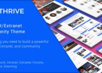 Thrive - Intranet/Extranet/Community WordPress Theme