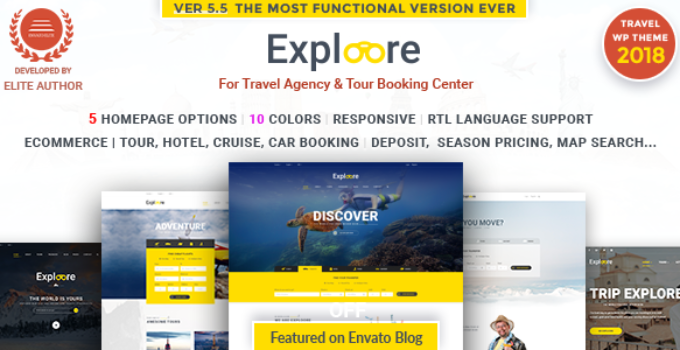 Tour Travel WordPress | EXPLOORE