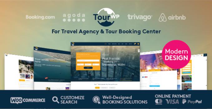 Tour WP - Travel & Tour WordPress Theme or Tour Operator and Travel Agency