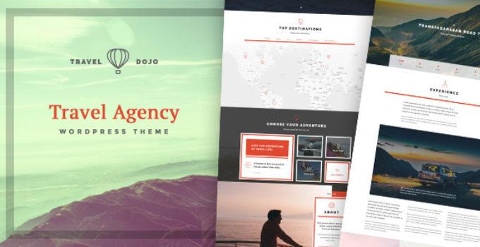 Travel Dojo - Travel Agency Tours Directory WordPress Theme