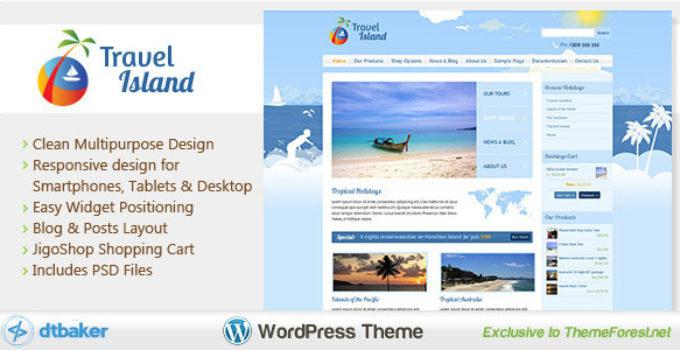 Travel Island WordPress
