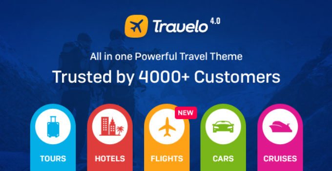 Travelo -­ Travel/Tour Booking Responsive WordPress Theme