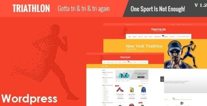 Triathlon - Sports and Gym Responsive WordPress Theme