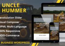 Uncle Hummer - Responsive WordPress Building Theme