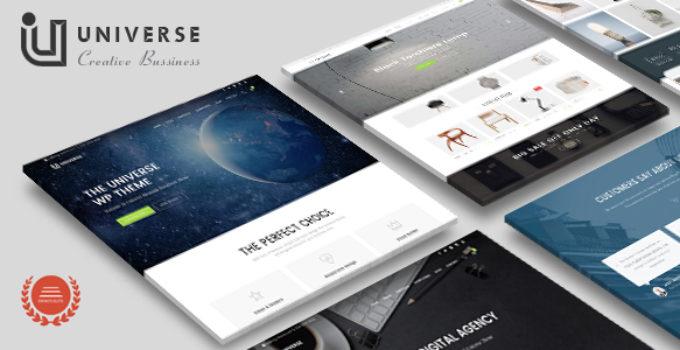 Universe - Responsive MultiPurpose Creative Business WordPress Theme