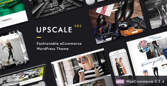 Upscale - Fashionable eCommerce WordPress Theme