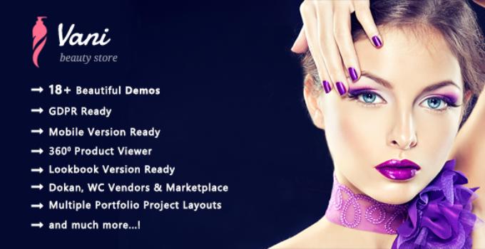 Vani - Health & Beauty WooCommerce WordPress Theme