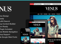 Venus | Responsive News Magazine Blog Theme