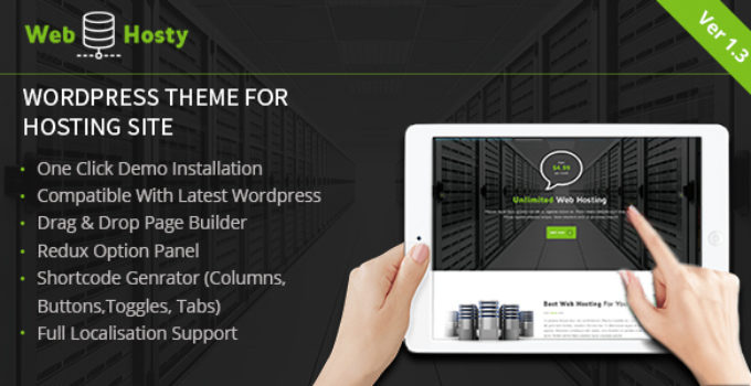 Web Host - Hosting WordPress Theme