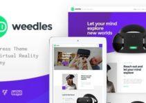 Weedles | Virtual Reality Landing Page & Store WordPress Theme