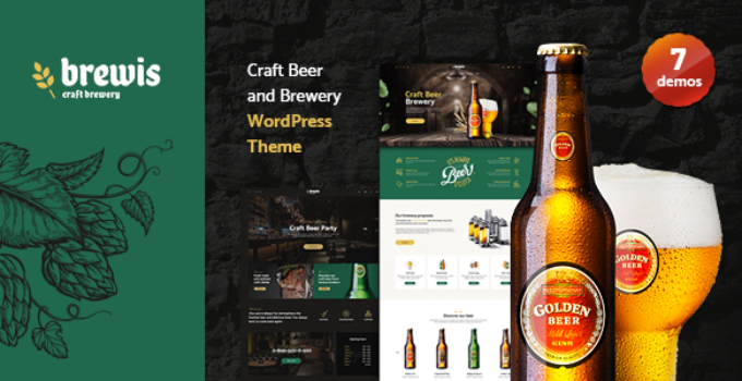 Weisber - Craft Beer & Brewery WordPress Theme