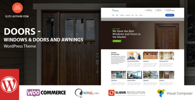 Windows & Doors - High Quality WordPress Theme