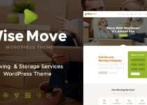 Wise Move   Moving and Storage Services WordPress Theme