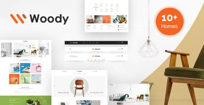 Woody - Furniture WooCommerce WordPress Theme