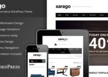 Xarago - Minimalist eCommerce WordPress Theme