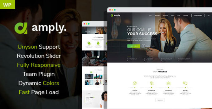 Amply - WordPress theme for Digital Business