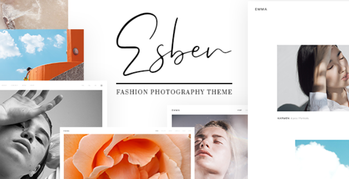 Esben - Elegant Fashion Photography Theme