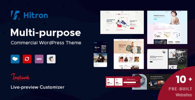 Hitron - Creative Multipurpose WordPress Theme