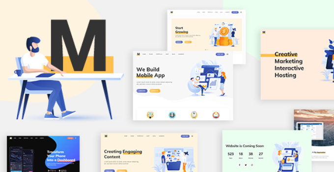 Milu - Tech and App Landing Page Theme
