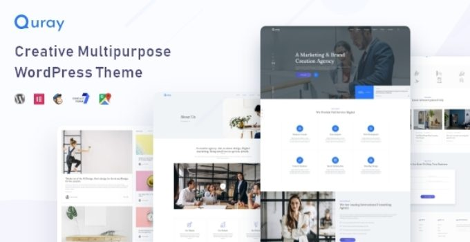 Quray - Business Consulting WordPress Theme