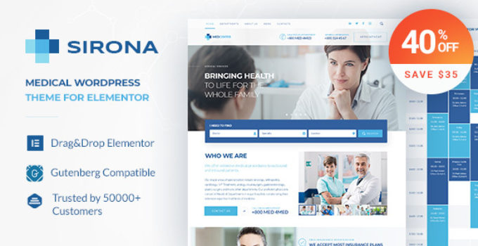 Sirona - Health and Medical Clinic