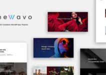 The Wavo - AJAX Creative WordPress Theme