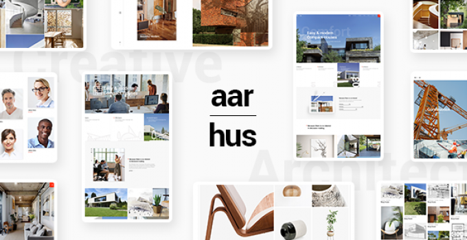 Aarhus - Modern Architecture Theme