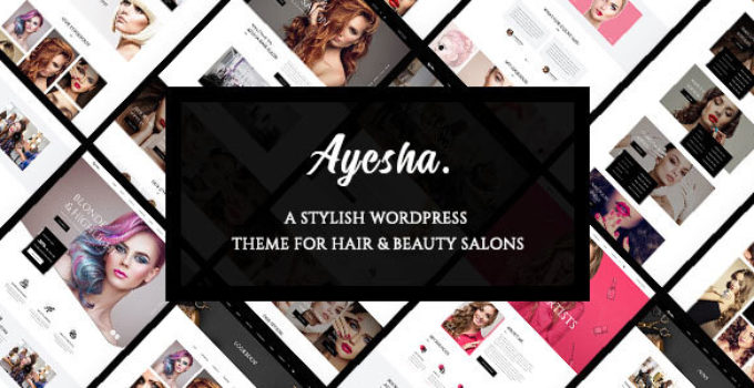 Ayesha - Hairdressers and Beauty Salons WordPress Theme