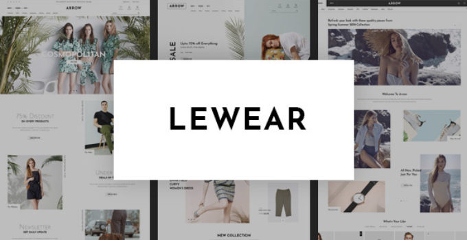Lewear - Multipurpose WooCommerce Theme