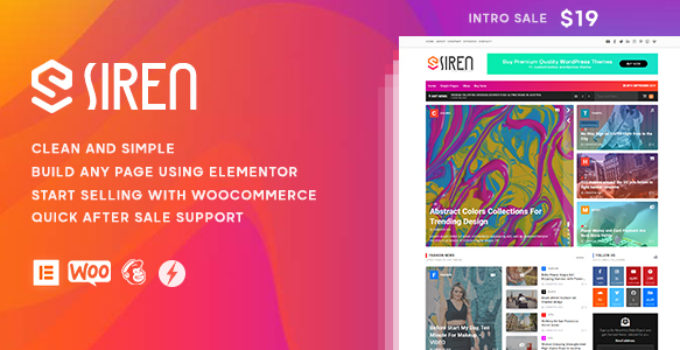 Siren - News Magazine WordPress Theme