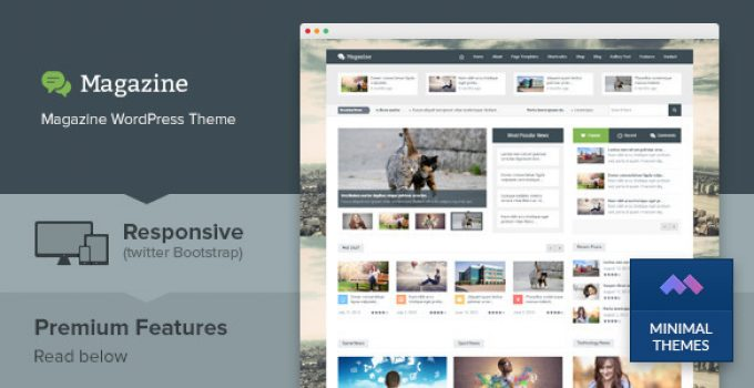 Magazine - Responsive Multi Purpose & Magazine WordPress Theme