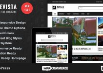 Revista - Flat Magazine WordPress Theme