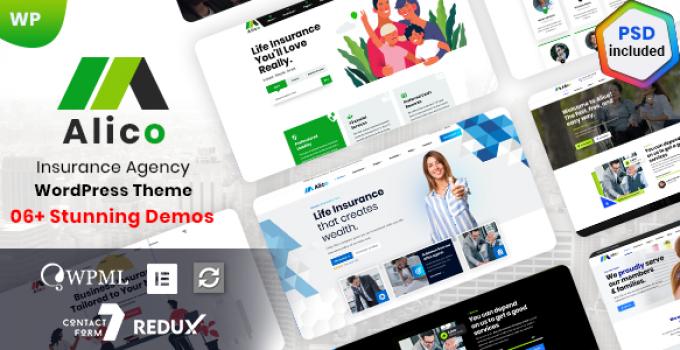 Alico - Insurance Agency WordPress