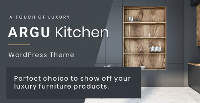 Argu - Kitchen WordPress Theme