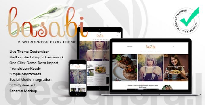 Basabi - Blog WordPress Theme